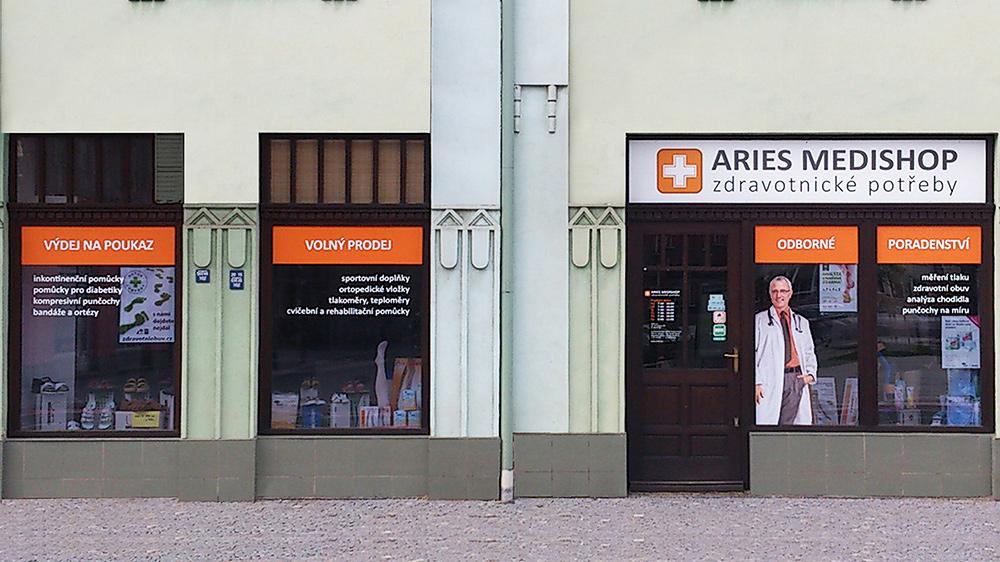 1049dc1584c Prodejna ARIES MEDISHOP zdravotnické potřeby