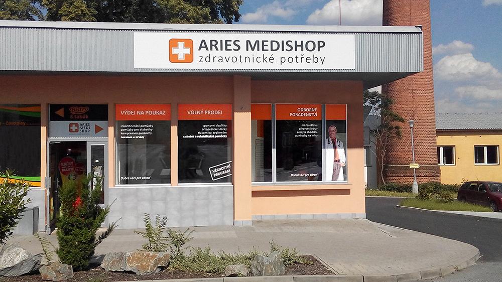 60d00dca046d Prodejna ARIES MEDISHOP zdravotnické potřeby