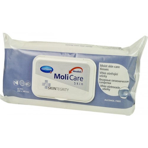 MoliCare Skin vlhké ošetřující utěrky - D-H0197