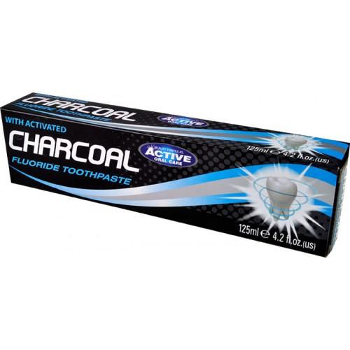 CHARCOAL zubní pasta s aktivním uhlím 125 ml - D-U0303