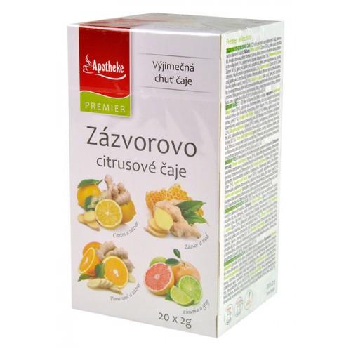 Apotheke zázvorovo citrusové čaje