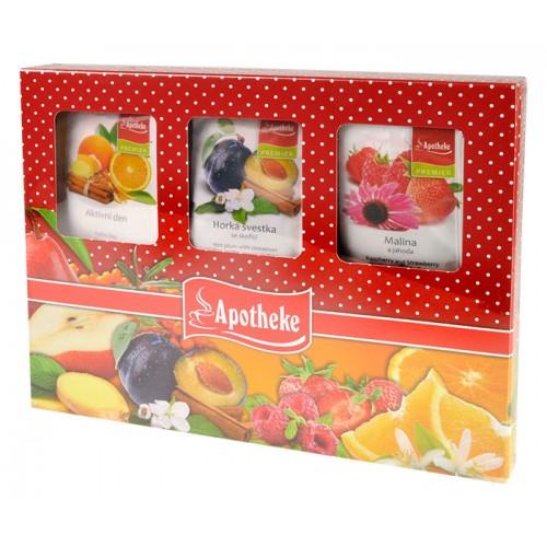 Apotheke kolekce ovocných čajů 30 ks