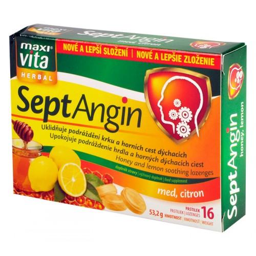 MaxiVita SeptAngin - med a citron
