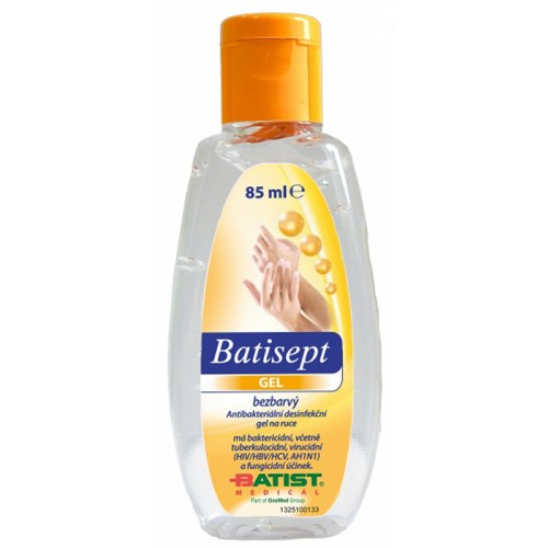 Batisept gel bezbarvý - 85 ml