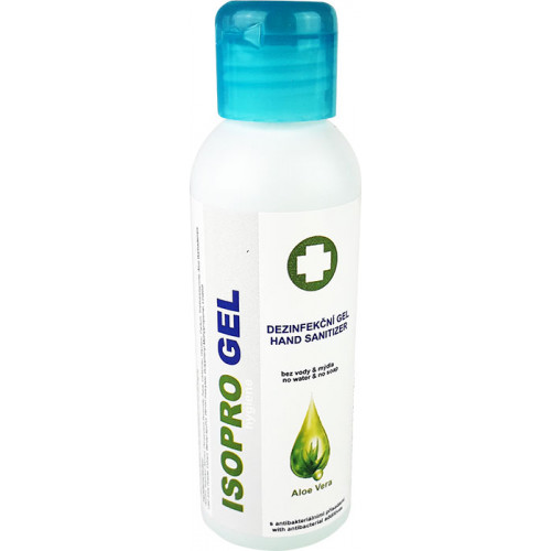 Dezinfekční gel na ruce s Aloe Vera 100 ml