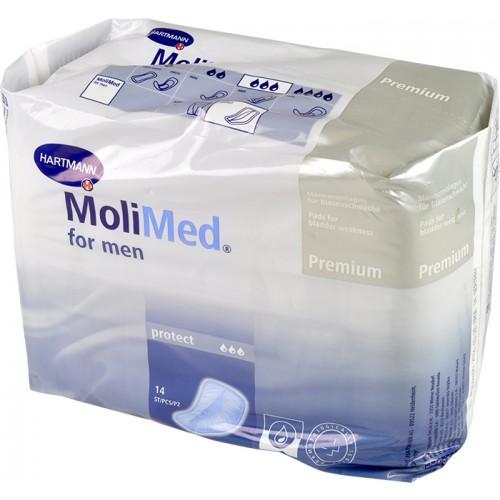 Vložky pro muže Molimed for men Protect, 620 ml, 14 ks