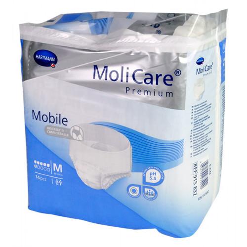 Natahovací kalhotky MoliCare Mobile 6 kapek