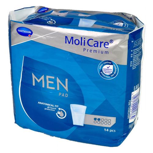 Vložky pro muže MoliCare Men 2 kapky