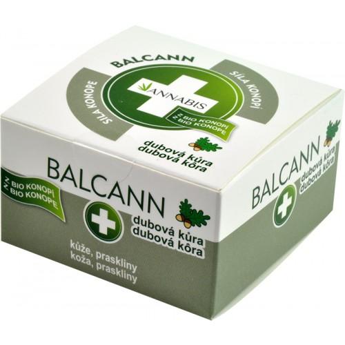 Balcann dubová kůra konopná mast