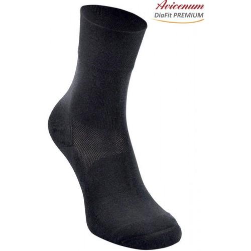 Avicenum DiaFit THERMO zateplené bavlněné ponožky pro diabetiky
