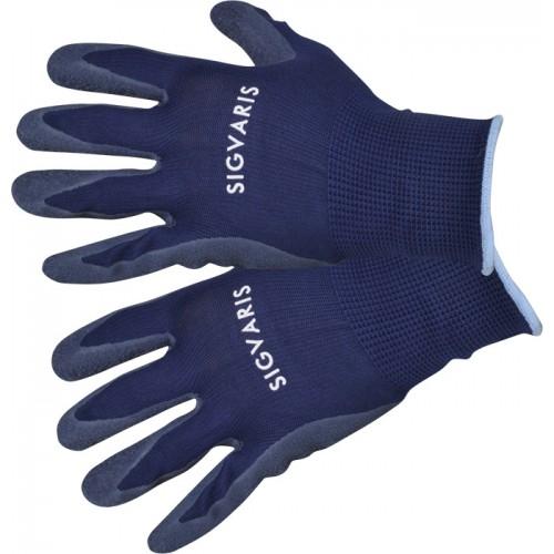 Latexové navlékací rukavice na kompresivní punčochy