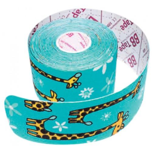 Jemná tejpovací páska BB kinesio tape KIDS (jemnější lepidlo) - D-BBJE-PA-----5X5ZIRM-