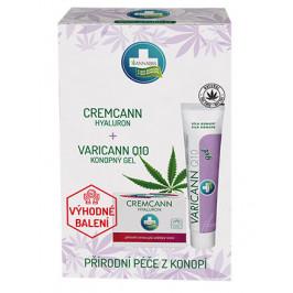 Varicann Q10 + Cremcann Hyaluron sada