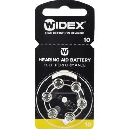 WIDEX 10 baterie do naslouchadel 6 ks