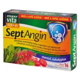 MaxiVita SeptAngin - mentol a eukalyptus