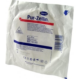 Buničité čtverečky Pur-Zellin v roli, 500ks