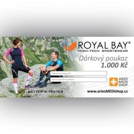 Dárkový poukaz  ROYAL BAY® 1.000 Kč