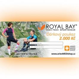 Dárkový poukaz ariesMEDIshop.cz na nákup zboží  ROYAL BAY® v hodnotě 2.000 Kč.