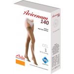 Stehenní punčochy Avicenum 140, Sanitized, samodržící krajka - box
