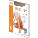 TIMONY 15 pohodlné samodržící punčochy s krajkou