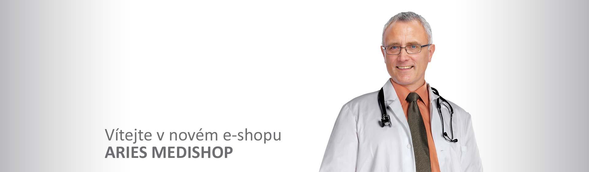 Vítejte v novém e-shopu ARIES MEDISHOP
